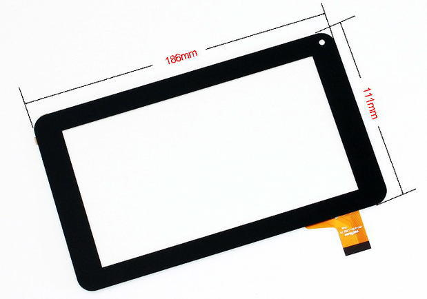 Replacement 7inch Touch Screen Digitizer Glass Screen for EXEQ P-702 186*111mm replacement touch screen digitizer glass for lg p970 black