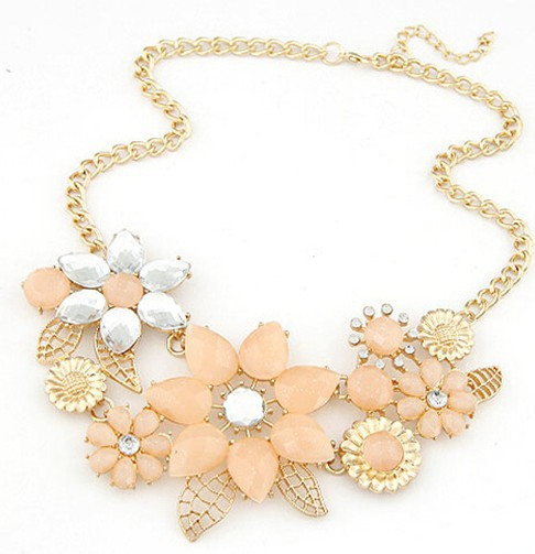 Hot sale brand design western style multilayer pendants rhinestone hot sale brand design western style multilayer pendants rhinestone gold hollow flowers necklace statement jewelry mozeypictures Image collections