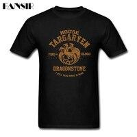 Multi Color T Shirts Men Boy House Targaryen Game Of Thrones Men T Shirt Short Sleeve