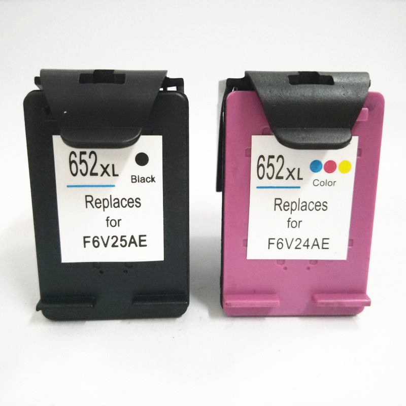 einkshop 652xl Compatible <font><b>Ink</b></font> <font><b>Cartridge</b></font> Replacement For <font><b>HP</b></font> <font><b>652</b></font> xl Deskjet 1115 2135 3835 2675 2676 4675 5075 printer image