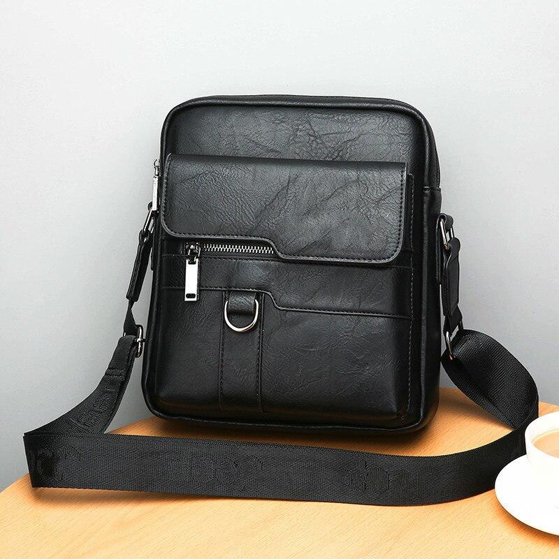 HTB1sMkAeL1H3KVjSZFBq6zSMXXaC New Men Briefcase Bags Business Leather Bag Shoulder Messenger Bags Work Handbag 14 Inch Laptop Bag Bolso Hombre Bolsa Masculina