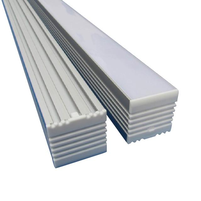 6pcs x 1m led aluminium profile channel track diffuser for 30mm 6pcs x 1m led aluminium profile channel track diffuser for 30mm pcb led strip light aloadofball Images