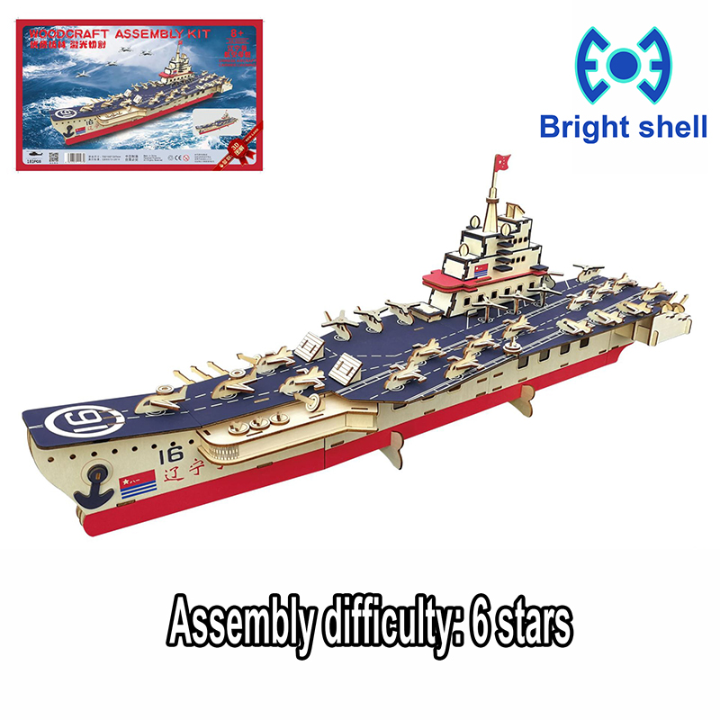 DIY arts and 3D arms Handmade Wooden Craft toys Party Arts Puzzles Model Decoration for children kid Toy Birthday Best Gift