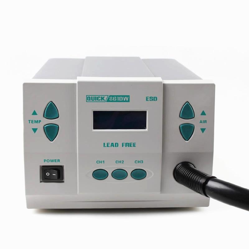1000W originaal QUICK 861DW soojuspüstol pliivaba kuumaõhu - Elektrilised tööriistad - Foto 4