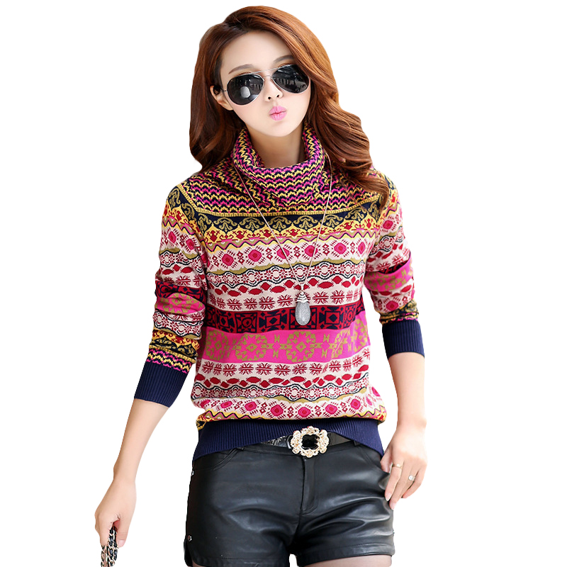 New Brand Winter Cashmere Sweater Women Vintage Loose ...