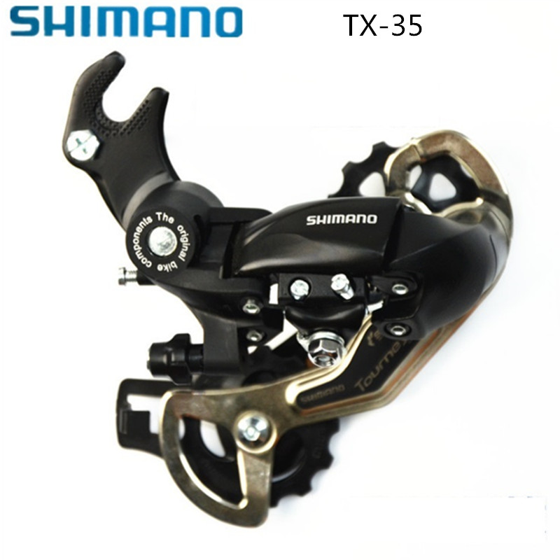 SHIMANO Tourney TX35 Rear Derailleur MTB Bike Accessory Mountain Bicycle Parts for 3x8S 3x7S 21S 24S Speed microshift groupsets ts70 7 3x7s 21 speed trip conjoined dip derailleur mtb mountain bike group compatible for shimano page 5