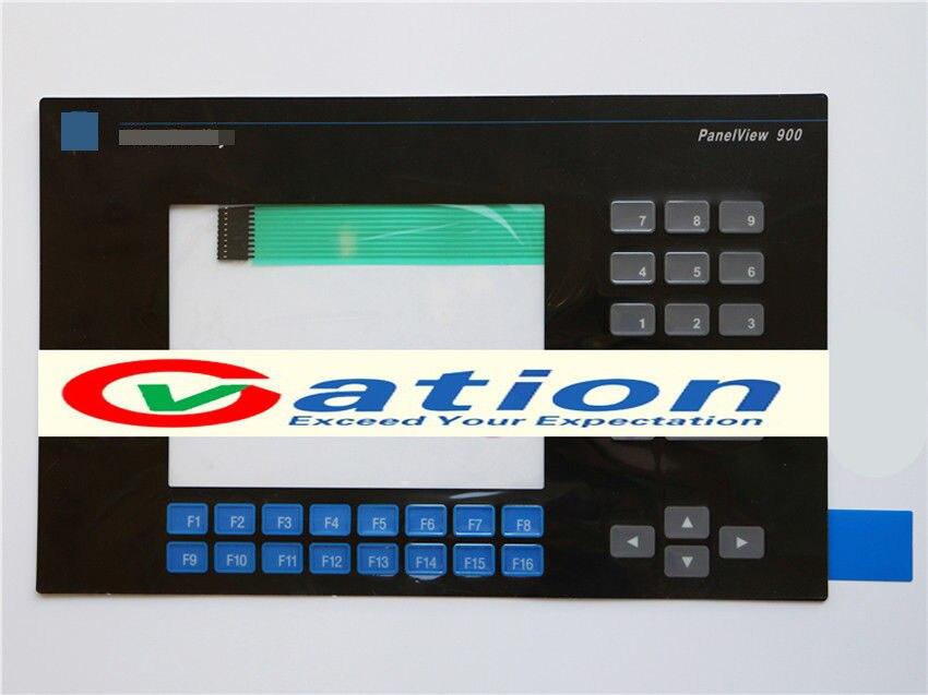 For  PanelView 900 2711-K9C1 2711-K9C1X Membrane Keypad 1pcs new panelview 900 2711 k9 2711 k9a1 2711 k9a2 2711 k9a3 2711 k9a5 2711 k9a8 2711 k9a8x membrane keypad