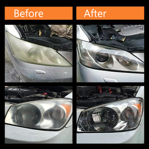Image 5 - Kit de polissage et éclaircissant pour phares de voiture, anti rayures, restauration des phares, lentilles, restauration de la clarté