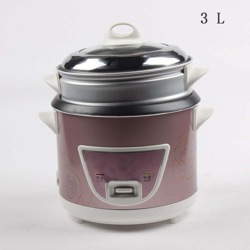 DMWD 3L Mini Automatic Rice Cooker Electric Food Steamers Non-stick Cake Maker For Home Top Quality 500W 220V цена и фото