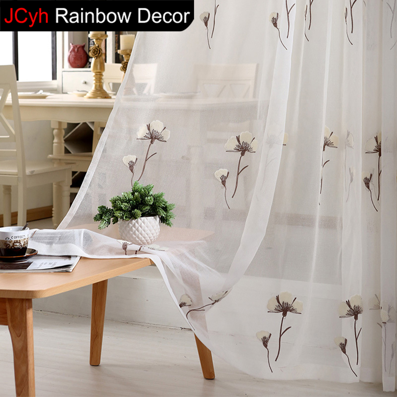 Kids Curtains For Living Room Window Cheap Short Kitchen Curtains Bedroom  Blinds Fabric Voile White Tulle