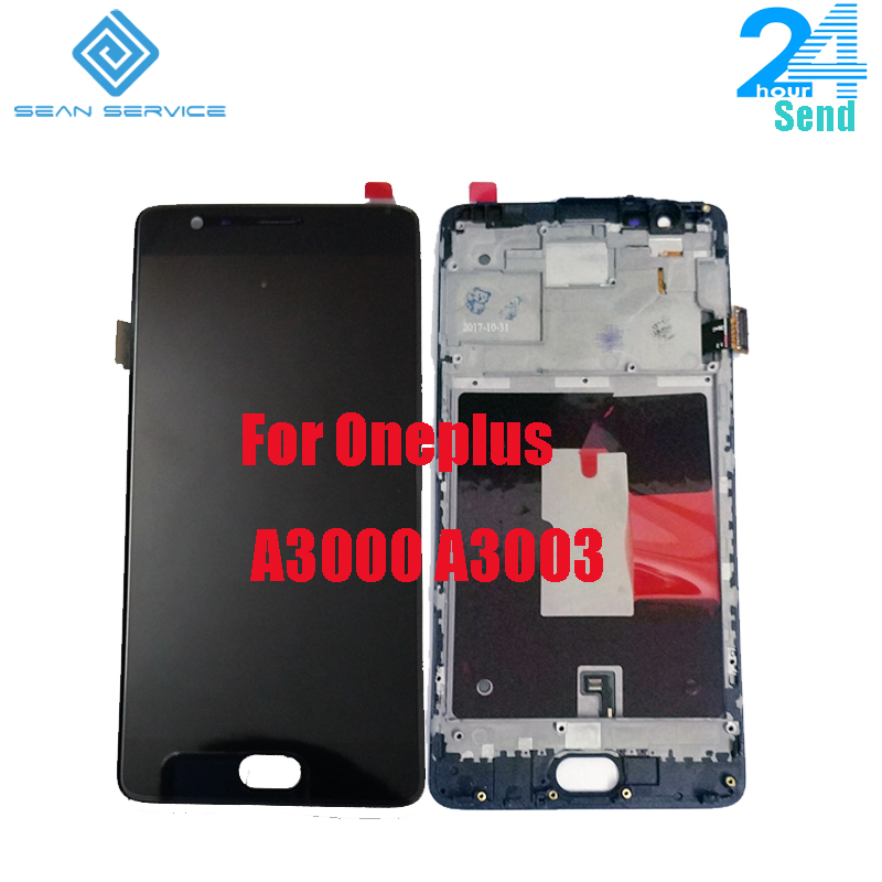 For Oneplus 3 LCD Display+Touch Screen Digitizer Assembly With frame fram5.5inch 1920x1080P For One plus 3T A3010 A3003 A3000 For Oneplus 3 LCD Display+Touch Screen Digitizer Assembly With frame fram5.5inch 1920x1080P For One plus 3T A3010 A3003 A3000