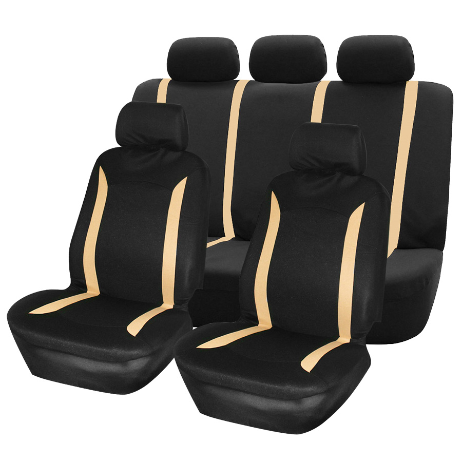 Classic Automobiles Seat Covers Universal 9pcs Car Seat Cover for Most Cars Seat Protector Interior Styling Accessories(China)