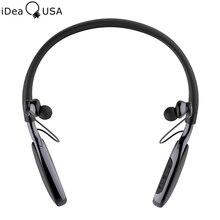 Ideausa v205 активного шумоподавления шейным наушники-вкладыши sweatproof беспроводной спорт наушники bluetooth 4.0 наушники встроенный микрофон