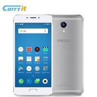 Original Meizu M5 Note Global ROM OTA 3GB 16GB Mobile Phone Android Helio P10 8-Core 5.5