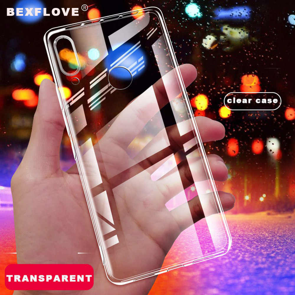 Soft Silicone Clear Case For Huawei P30 Pro Lite Case For Honor 10i Case Transparent Cover For Huawei Y6 2019 Y7 Y9 P Smart Euti