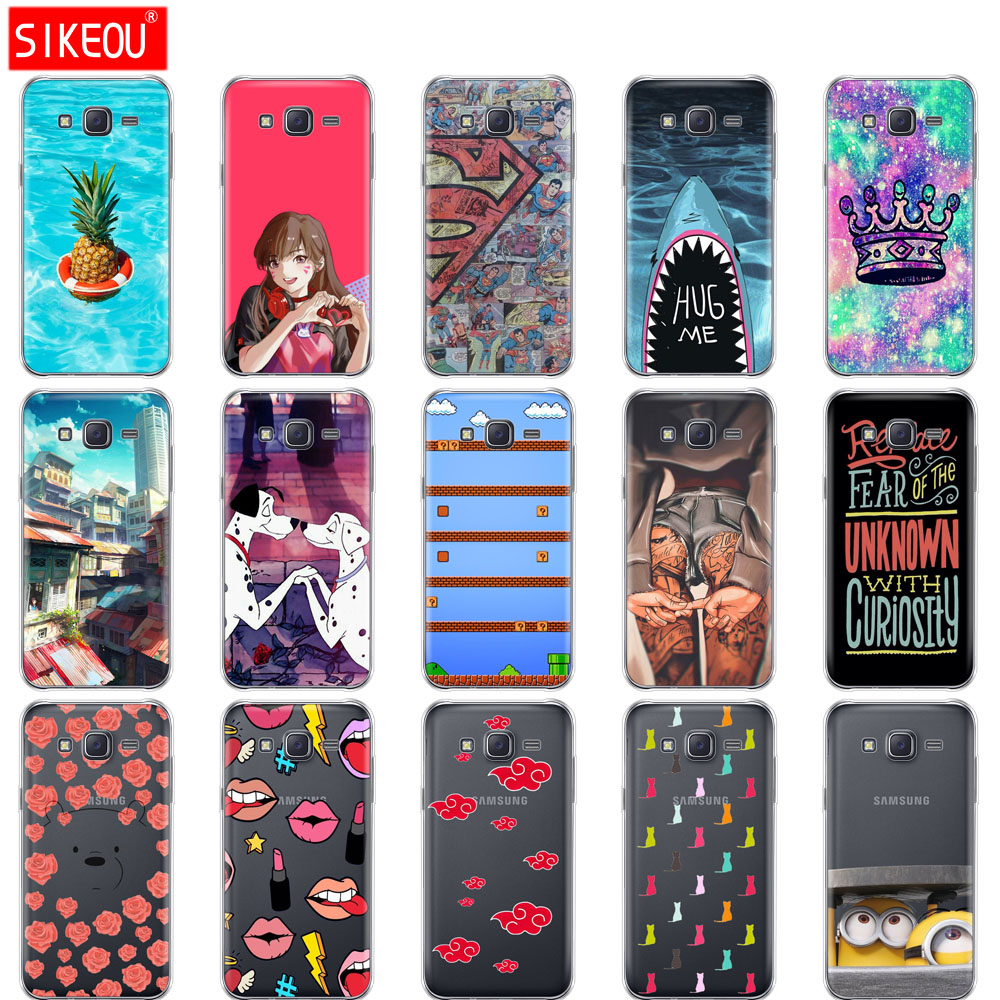 Soft TPU silicone Case For Samsung Galaxy J7 2015 Cover For Samsung J 7 2015 SM J700F J700 J7008 5.5 inch Print Painted Fundas