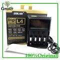 Cargador de Batería Universal de alta calidad Original Golisi Digicharger L4 Para AA AAA Li ion 18650 Batería cigarrillo Electrónico