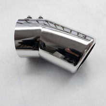 For Toyota Land Cruiser 200 2007 2013 Stainless steel exhaust pipe tail muffler auto accessories