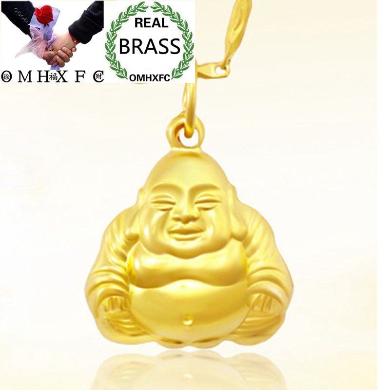 HAPPY BUDDHA 3D HOLLOW BACK CHARM 925 STERLING SILVER