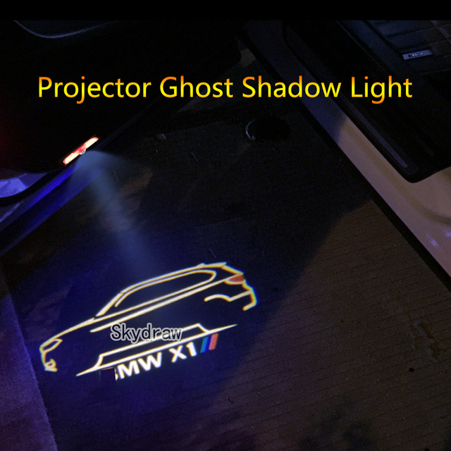 Us 21 29 29 Off 2 Piece For Bmw X1 F48 F49 E84 2009 2019 Car Led Door Warning Light Projector Ghost Shadow Light Logo Customizable In Signal