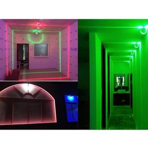 Image 5 - Modern LED Tavan Işık RGB Kısılabilir duvar Lambası iç mekan aydınlatması balkon Yatak Odası KTV otel koridor Yüzey Montajlı Uzaktan Kumanda
