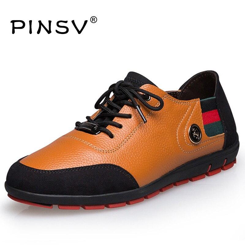 De gran Tamaño 47 Otoño Hombres Pisos Zapatos de Cuero de Grano Completo zapatos