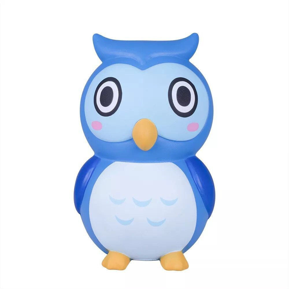 Giant  Adorable Owl Slow Rising Toy Soft Squeeze Stress Reliever Toys Antistress Squishies Animal сквиши антистресс
