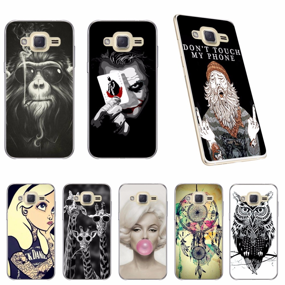 5 0 inch Soft Case Cover For Samsung Galaxy J2 Prime Cool Fashion Soft Silicone TPU