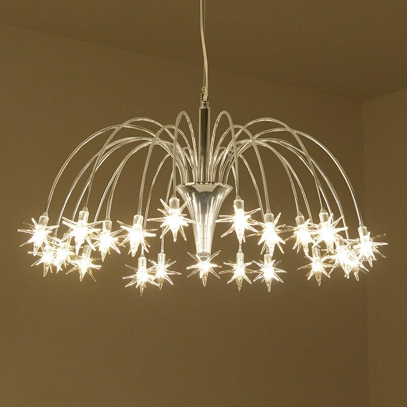 Design/moderne/créatif/Art lustre pour salon chambre éclairage lustre moderne maison éclairage intérieur lampe suspendue