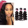 "Top Grade 6A Brazilian Natural Wave(More Wave)Virgin Remy Hair 3Pcs/ Lot 10""~ 32"" Unprocessed Wet And Wavy Virgin Brazilian Hair"