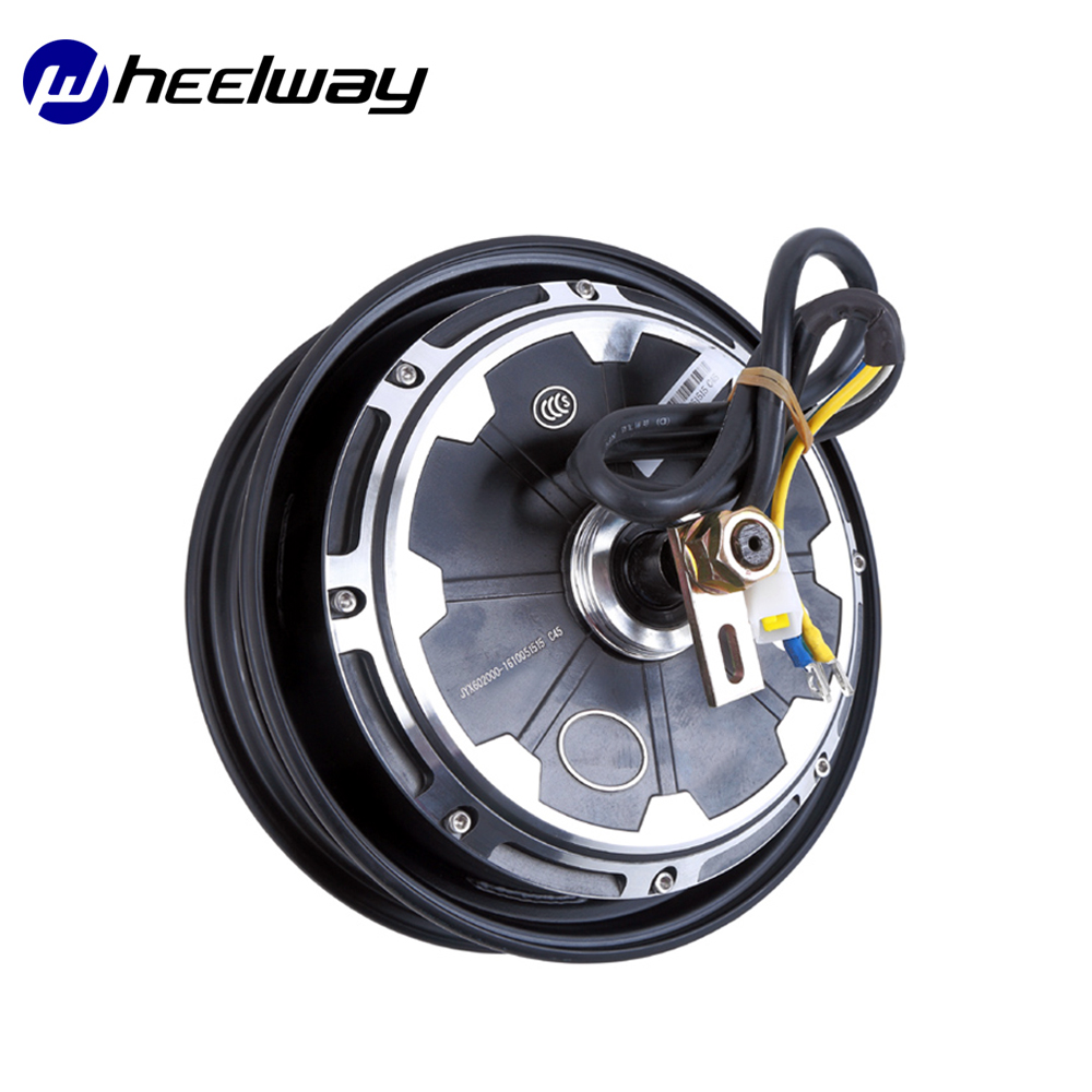 Wheelway 10 Inch Electric Motorcycle Hub <font><b>Motor</b></font> 800W 1000W 1200W 1500W <font><b>2000W</b></font> <font><b>60V</b></font>/72V Drum Brake Brushless Gearless Hub <font><b>Motor</b></font> image