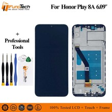 Tested AA LCD For Huawei Honor 8A LCD Display and Touch Screen Digitizer Assembly Replacement With Tools For For Huawei Honor 8A стоимость