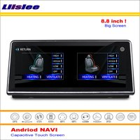 Liislee Car Android GPS Navi Navigation System For BMW X1 F48 2016~2017 Radio Stereo Audio Video Multimedia ( No DVD Player )