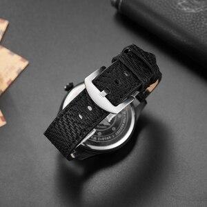 Image 4 - גברים שעון מטוס מנוע חקוק גברים של חיוג גדול זכר יד שעונים B uhr פיילוט ספורט שעוני יד Reloj טייס Mens שעון
