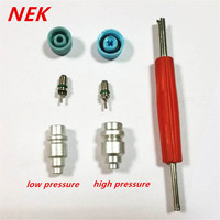 Free Shipping Automotive Air Conditioning High Pressure Valve 134A Low Pressure Valve Refrigerant Filling Gas Mouth