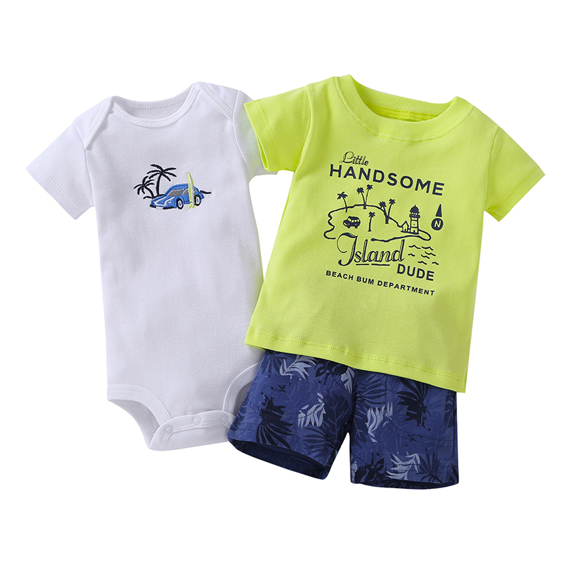 2018 Hot Sale Limited Retail Kids For Bebes Boys & Girls Summer Outfit, Baby Kaka (body + Body Short) 3. Landscape Design
