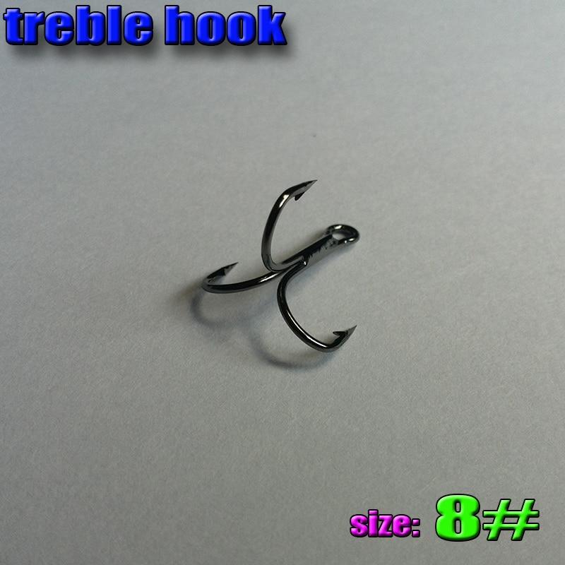 Free-Fisher 100 piezas alta con p/úas de acero al carbono negro cebo titular gancho de pescado de mar pesca ganchos