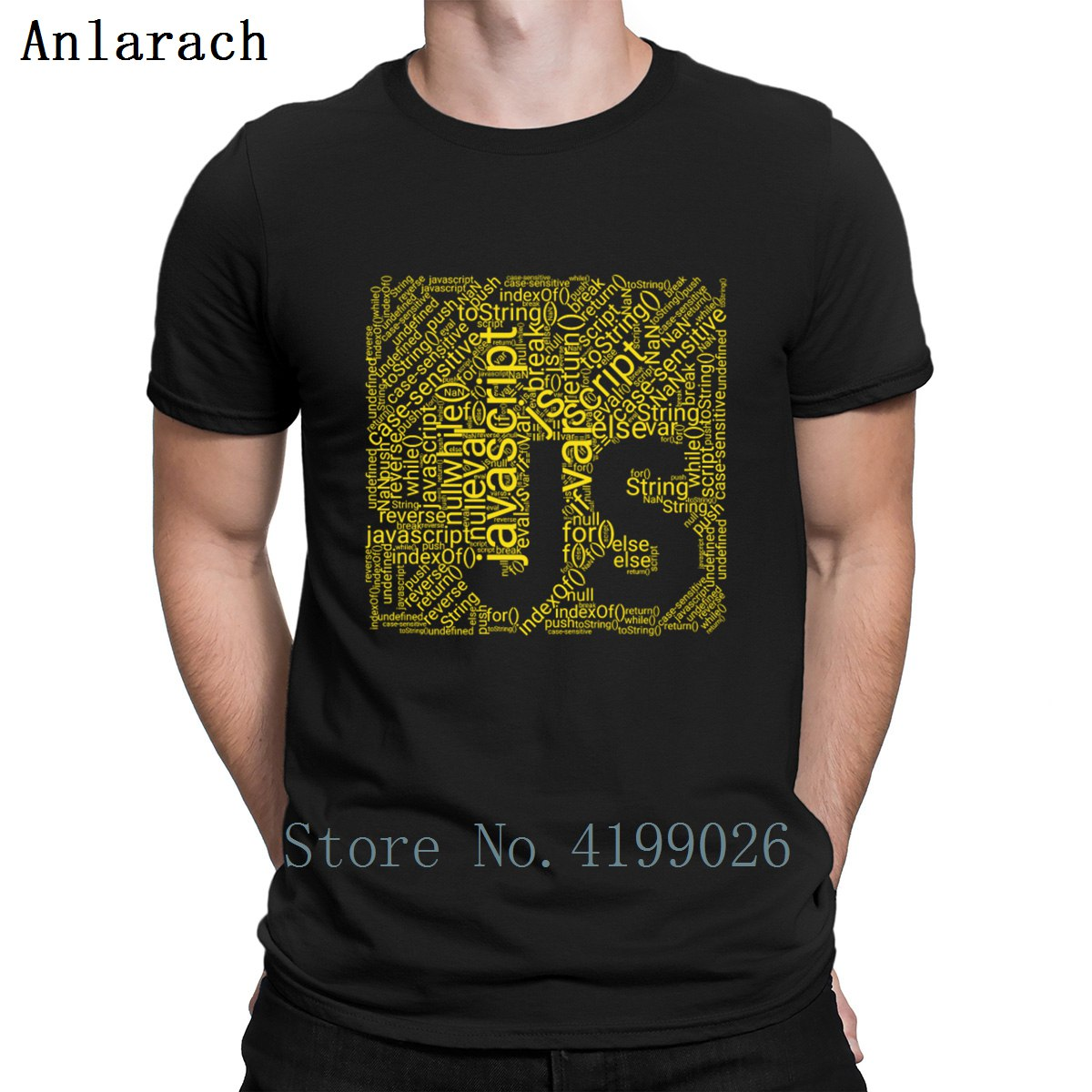 Js Wordcloud Programming   Shirt   For Javascript Deve   T     Shirt   Family Hiphop Top Creative Mens   T  -  Shirt   Letters Summer Cotton Cute