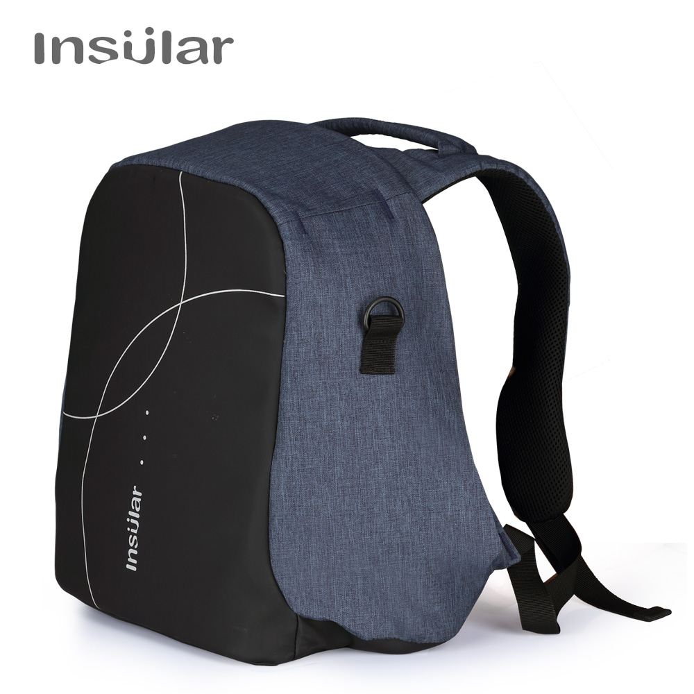 Insular Baby Diaper Stroller Bag New Mommy Maternity Handbag Multifunctional Nappy Changing Backpack