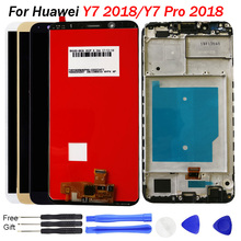 Original Y7 2018 LCD For Huawei Prime Screen Display With Frame Touch Assembly Pro