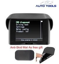 Maozua Z132 2.4 дюймов Автомобиля OBD Смарт-Цифровой метр Сигнализации код неисправности Воды датчик температуры цифровой дисплей новое обновление для A202