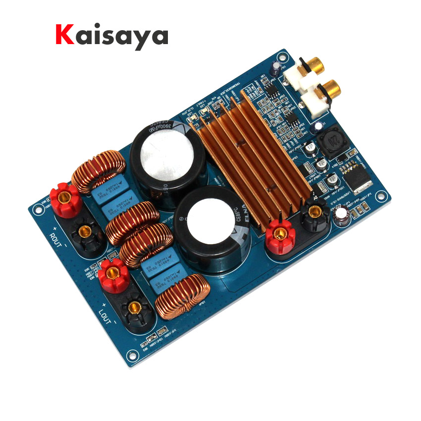 300W + 300W DC 48V 3900UF/100V*2 Class D TPA3255 MINI HIFI AUDIO Digital audio Amplifier Board Digit Power AMP Circuit Module