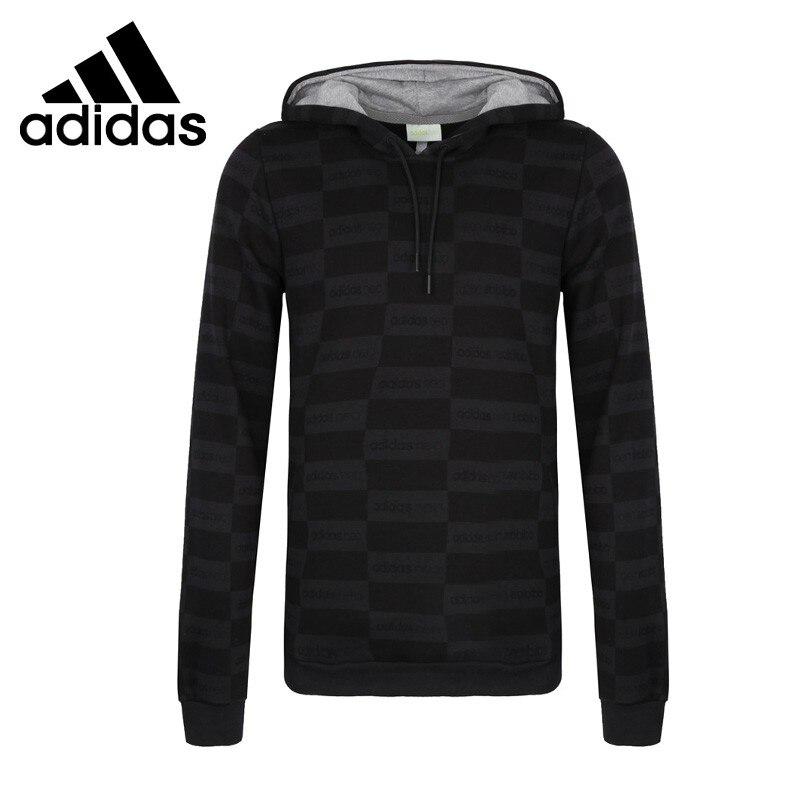 Original New Arrival 2017 Adidas NEO Label FV AOP HD Men's Pullover Hoodies Sportswear цена