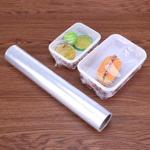 1 Roll 30cm Food Storage Plastic Bags Packaging Film Vacuum Fresh Keeping  Bag Sealer Keep