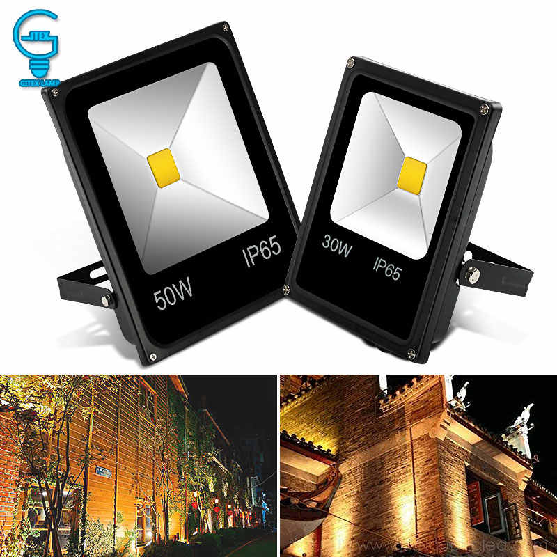 LED Flood Light 10W 20W 30W 50W 220V 240V Floodlight Wall Exterieur Lamp Projector Reflector Outdoor Lighting