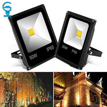 LED Flood Light 10W 20W 30W 50W 220V 240V Floodlight Wall Exterieur Lamp Projector Reflector Outdoor Lighting(China)