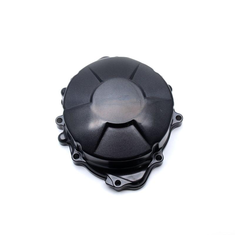 Capot de moteur de Stator de carter de côté gauche en aluminium noir de moto pour Honda CBR CBR600RR 2007-2011
