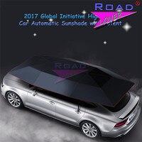 Topnavi Новый Портативный съемный полуавтоматическая автомобиля Зонт крышки Защита от ультрафиолетовых лучей