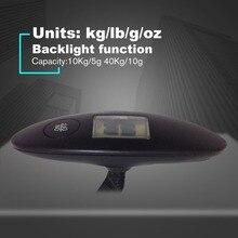 JY-019, мини электронные портативные весы, электронные весы для багажа, рыболовные Весы, многофункциональные, 40 кг, 0,001 г/кг/фунты/унции
