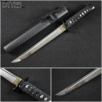 Real Katana Swords Katana 1095 High Carbon Steel Espada Katana Samurai Handmade Samurai Tanto Knife Espada Katana Afiada| | |  -